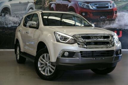 2017 Isuzu MU-X MY17 LS-T Rev-Tronic 4x2 Splash White 6 Speed Sports Automatic Wagon Rockingham Rockingham Area Preview