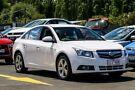 2009 Holden Cruze JG CDX White 6 Speed Sports Automatic Sedan