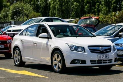 2009 Holden Cruze JG CDX White 6 Speed Sports Automatic Sedan Ringwood East Maroondah Area Preview