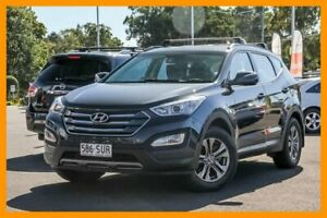 2012 Hyundai Santa Fe DM MY13 Active Grey 6 Speed Sports Automatic Wagon Aspley Brisbane North East Preview