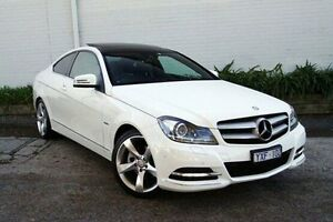 2012 Mercedes-Benz C250 CDI White Sports Automatic Coupe Burwood Whitehorse Area Preview
