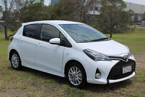 2014 Toyota Yaris NCP131R ZR White 4 Speed Automatic Hatchback Ormeau Gold Coast North Preview