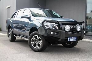 2016 Mazda BT-50 UR0YG1 GT Blue 6 Speed Sports Automatic Utility Osborne Park Stirling Area Preview