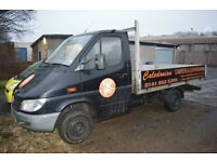 Mercedes Sprinter 208 Cdi Swb Flat Bed Truck