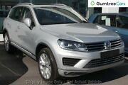2015 Volkswagen Touareg 7P MY15 V6 TDI Tiptronic 4MOTION Silver 8 Speed Sports Automatic Wagon Osborne Park Stirling Area Preview