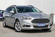 2015 Ford Mondeo MD Ambiente PwrShift Silver 6 Speed Sports Automatic Dual Clutch Wagon Rockingham Rockingham Area Preview