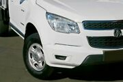 2014 Holden Colorado RG MY14 LX Crew Cab 4x2 White 6 Speed Manual Cab Chassis Capalaba Brisbane South East Preview