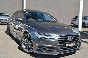 2016 Audi A6 4G MY17 Bi-Turbo Tiptronic quattro Grey 8 Speed Sports Automatic Sedan Burwood Whitehorse Area Preview