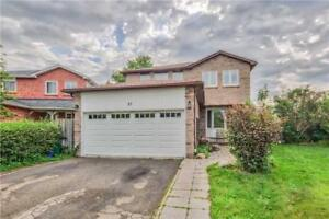 Bright Spacious Basement w/ 2 Bedroom For Rent in Prime Ajax