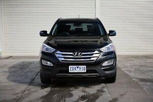 2013 Hyundai Santa Fe DM MY13 Highlander Black 6 Speed Sports Automatic Wagon Seaford Frankston Area Preview