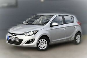 2014 Hyundai i20 PB MY15 Active Silver 4 Speed Automatic Hatchback Berwick Casey Area Preview