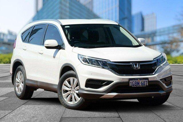 2016 Honda Cr V Rm Series Ii My17 Vti 4wd White 5 Sd Sports Automatic Wagon