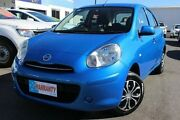 2012 Nissan Micra K13 ST Blue 4 Speed Automatic Hatchback Moorooka Brisbane South West Preview