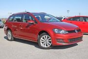 2015 Volkswagen Golf VII MY15 90TSI DSG Comfortline Maroon 7 Speed Sports Automatic Dual Clutch Pearsall Wanneroo Area Preview