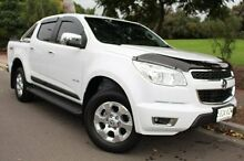 2013 Holden Colorado RG MY14 LTZ Crew Cab White 6 Speed Sports Automatic Utility Thebarton West Torrens Area Preview