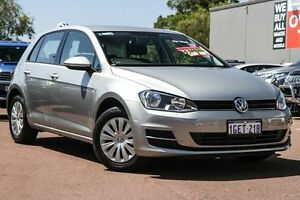 2015 Volkswagen Golf VII MY15 90TSI DSG Silver 7 Speed Sports Automatic Dual Clutch Hatchback Wilson Canning Area Preview