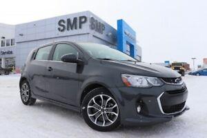2018 Chevrolet Sonic LT- Htd Seats, Rem Start, Sunroof, Reverse