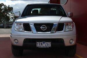 2011 Nissan Navara D40 MY11 ST Silver 6 Speed Manual Utility Dandenong Greater Dandenong Preview