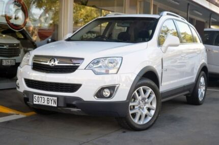 2012 Holden Captiva CG Series II 5 AWD White 6 Speed Sports Automatic Wagon Somerton Park Holdfast Bay Preview
