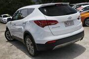 2012 Hyundai Santa Fe DM MY13 Highlander White 6 Speed Sports Automatic Wagon Kedron Brisbane North East Preview