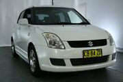 2007 Suzuki Swift RS415 RE1 White 5 Speed Manual Hatchback Maryville Newcastle Area Preview