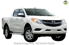 2015 Mazda BT-50 UP0YF1 XTR White 6 Speed Manual Utility Mount Gambier Grant Area Preview