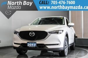 2017 Mazda CX-5 GT AWD with Bluetooth, Nav, Memory Seat, Leather