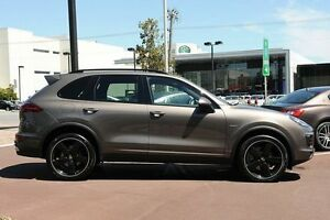 2015 Porsche Cayenne 92A MY15 Diesel Tiptronic Brown 8 Speed Sports Automatic Wagon Osborne Park Stirling Area Preview