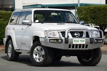 2011 Nissan Patrol GU 7 MY10 ST Polar White 5 Speed Manual Wagon Acacia Ridge Brisbane South West Preview