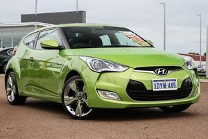 2012 Hyundai Veloster FS + Coupe Green 6 Speed Manual Hatchback East Rockingham Rockingham Area Preview