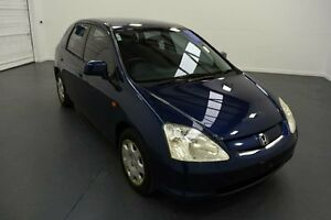 2001 Honda Civic 7TH GEN VI Blue 5 Speed Manual Hatchback Moorabbin Kingston Area Preview
