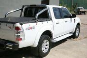 2009 Ford Ranger PK XLT Crew Cab White 5 Speed Automatic Utility Woodridge Logan Area Preview