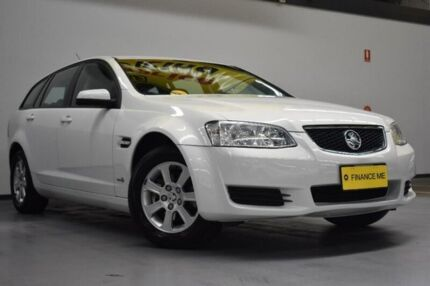 2011 Holden Commodore VE II Omega Sportwagon Heron White 6 Speed Sports Automatic Wagon Brooklyn Brimbank Area Preview