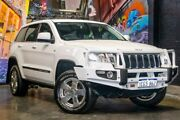 2013 Jeep Grand Cherokee WK MY2013 Laredo White 5 Speed Sports Automatic Wagon Perth Perth City Area Preview