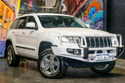 2013 Jeep Grand Cherokee WK MY2013 Laredo White 5 Speed Sports Automatic Wagon