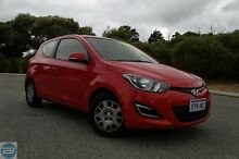 2014 Hyundai i20 PB MY14 Active Red 6 Speed Manual Hatchback Hillman Rockingham Area Preview