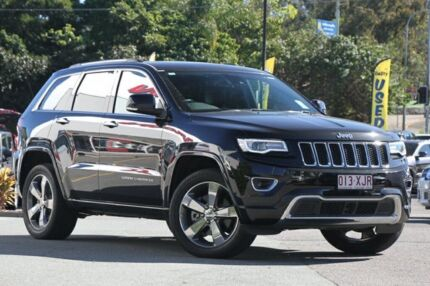 2015 Jeep Grand Cherokee WK MY15 Overland Black 8 Speed Sports Automatic Wagon Indooroopilly Brisbane South West Preview