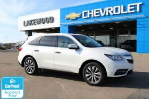 2014 Acura MDX Nav Pkg (Heated Seats, Back Up Camera)