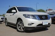 2016 Nissan Pathfinder R52 MY15 Upgrade TI (4x4) Pearl White Continuous Variable Wagon Victoria Park Victoria Park Area Preview
