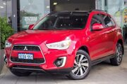2014 Mitsubishi ASX XB MY15 XLS 2WD Red 6 Speed Constant Variable Wagon Myaree Melville Area Preview