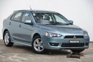 2009 Mitsubishi Lancer CJ MY09 VR Sportback Blue 6 Speed Constant Variable Hatchback Blacktown Blacktown Area Preview