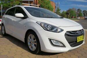 2014 Hyundai i30 GD Tourer Active 1.6 CRDi White 6 Speed Automatic Wagon