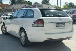 2013 Holden Commodore VF MY14 Evoke Sportwagon White 6 Speed Sports Automatic Wagon Thornleigh Hornsby Area Preview