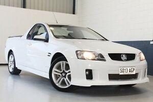 2010 Holden Ute VE II SV6 White 6 Speed Manual Utility Hillcrest Port Adelaide Area Preview