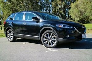 2014 Mazda CX-9 TB10A5 Luxury Activematic Jet Black 6 Speed Sports Automatic Wagon Wilson Canning Area Preview