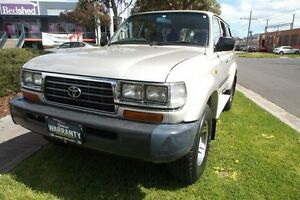 1997 Toyota Landcruiser GXL 40th Ann LE (4x4) Silver 4 Speed Automatic 4x4 Wagon Melbourne CBD Melbourne City Preview