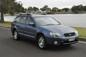 2005 Subaru Outback MY05 2.5I Blue 4 Speed Auto Elec Sportshift Wagon Five Dock Canada Bay Area Preview
