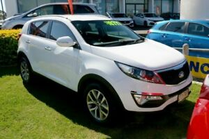 2014 Kia Sportage SL MY14 Si 2WD Premium Casa White 6 Speed Sports Automatic Wagon Ormiston Redland Area Preview