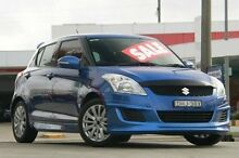 2012 Suzuki Swift FZ GLX Blue 5 Speed Manual Hatchback Pennant Hills Hornsby Area Preview