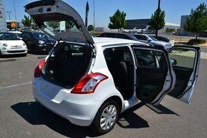 2013 Suzuki Swift FZ GL Silver 4 Speed Automatic Hatchback Strathmore Heights Moonee Valley Preview
